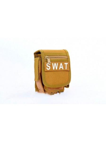 Сумка на пояс Койот RT-SWAT 1 л(р)