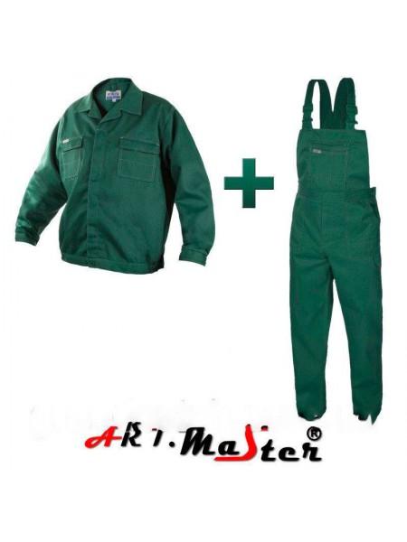 Костюм робочий Artmaster (пк+к) Зеленый 56-58(р)