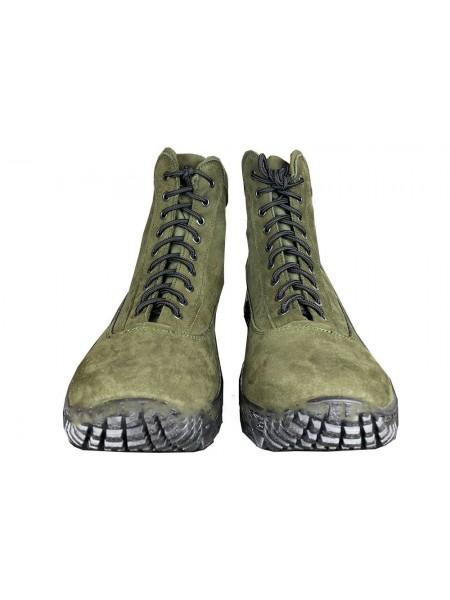 Ботинки Energy кожа Олива 40(р)